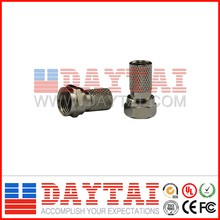 CATV Conector para RG6 Coaxial Cable