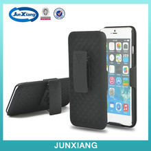 High quality hot sell America shell kickstand holster combo case for iphone 6 plus for I 6