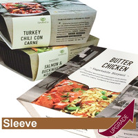 Hong Kong Manufacture Food Box Sleeve