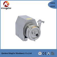 Stainless steel sanitary food centrifugal milk pump
