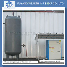Widely Used compressed air systems