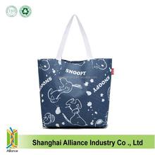 New Design Cartoon Snoopy Full Printing Shopping Tote Bag,Cartoon Character Women Tote Bag