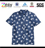 100% Microfiber Polyester Latest Button Up Polo Shirts Designs For men