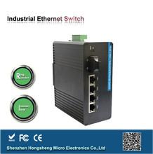 5 year warranty Din-rail industrial poe switch for ip camera