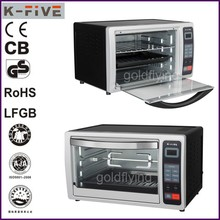 28L LED digital display portable electric pizza baking oven