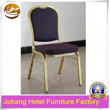Wholesale stacking aluminum restaurant dinning and banquet chair