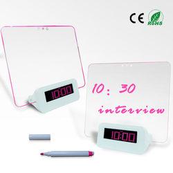 digital alarm clock with highlighter promotional clock