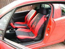 Embroidery flame washable car seat cover