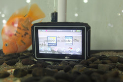4.3 Inch moto gps with 8GB map updates
