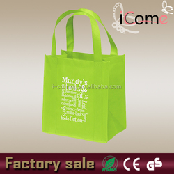 Non woven grocery carry bag/cloth carry bag/cheap printed vegetable carry bag(ITEM NO:N150021)