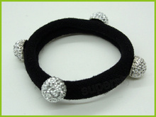 popular design ponytail hair ornament with 4 beads