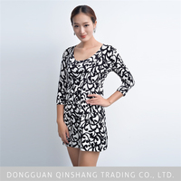 High quality knitted christmas lady dress fashion thailand