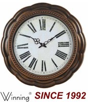 20Inch Antique French Clocks, Plastic Wall Clock