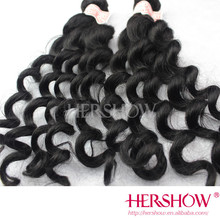 Unprocessed hair weaves for black women natural loose brazilian hair pieces