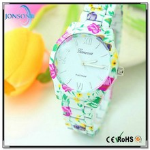 2015 top quality watch silicone with silicone wrist watch and silicone watch strap factory price