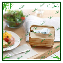 2015 new style and fashionable Bamboo Facial Tissues Box