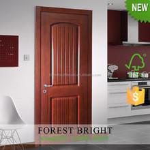 Arched Top Wood Panel Doors Design for Bedroom, Solid Core Molded Door
