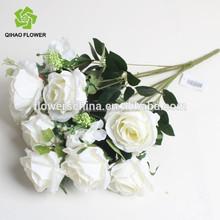 Decoración funeral, plástico funeral flor, de plástico artificial corona de funeral