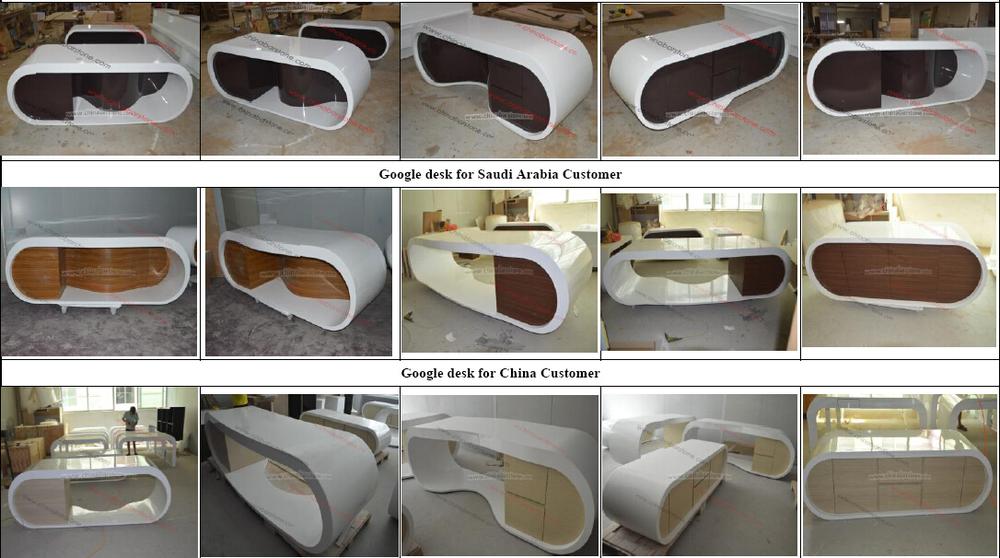 Haut de gamme mobilier de bureau moderne table de bureau for Design consult bureau
