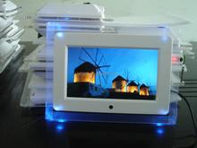 Fashion Acrylic 7 inch Digital Photo Frame Multi Function