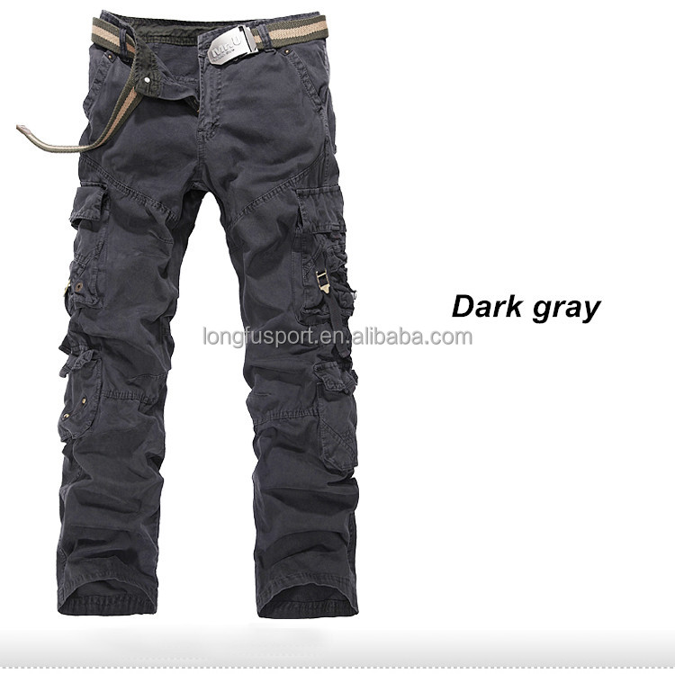 Cargo Pants For Men With Lots of Pockets Pockets Mens Cargo Pants