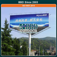 2015 new style Made in China professional outdoor advertising stands