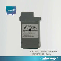 Printers Compatible Ink Cartridge 100% Genuine Canon Ink Cartridges for Canon iPF500 / 600 / 605 / 610 / 650