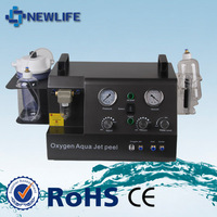 NL-HS202 New Design skin rejuvenation device oxygen jet peel/hydro oxygen jet peel machine