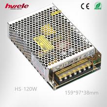 HS-120W 110v ac to 24v dc power supply with KC ROHS CE certification china