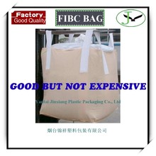 100% pp woven ton bag 1000kg FIBC super sacks for sand cement and chemical,1 ton pp woven big bag jumbo bag factory in shandong
