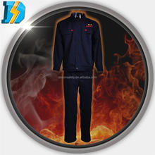 260gsm FR 100% cotton fabric protective suits chemical