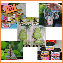 Wholesale air fresheners paper hanging car air freshener