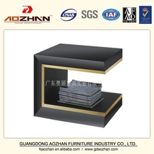 Latest European Style Stand Hight Black AZ-DLCT-0092