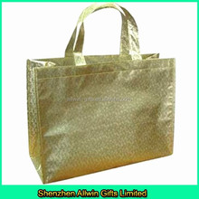 Luxury fashionable laminated non woven shopping bag