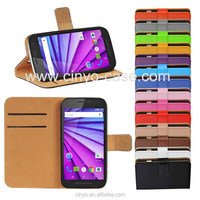 for motorola moto g 3rd gen leather case with card holder book style, for motorola moto g 3rd gen flip case cover