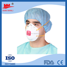 PP nonwoven N95 disposible face mask with active carbon