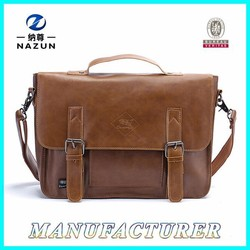 Men's Customized Elegant Tote Sling Multi Pocket Shoulder Bags