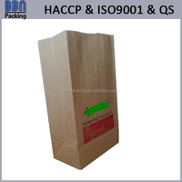 China high quality eco-friendly large capacity paper garbage bag for wet waste