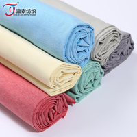 Polyester/cotton yarn-dyed fabric manufacturers selling youth cloth cloth fabric CVC Oxford shirt fabrics