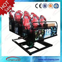 Wonderful China 5D cinema manufactures Hydraulic & electric cinema theater equipment for sale