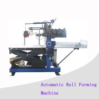 18L conical paint can roll forming machine