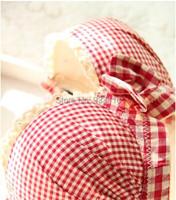 большая скидка! новые женщины сексуальная плед печати бюстгальтер push комплект леди вверх три белье крюк и глаз красный, черный 2 цвета
