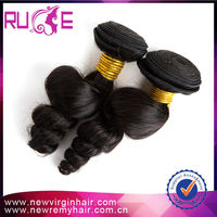 "Grade 5a cheap price malaysian virgin loose wave 20""unprocessed hair meche"