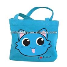 Lovely design canvas tote bag