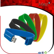 Max+ Promotional Silicone USB Memory Stick Custom USB Flash Drive