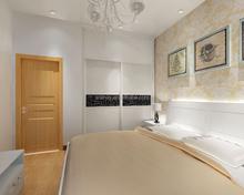 Space saving new style bedroom wardrobe design