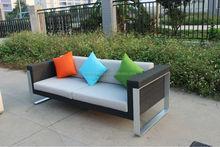 Popular outdoor rattan sofa 3 seater sofa