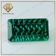 Trading Company 6*12mm Green Rectangle CZ Stones