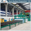 Structural Steel Fabrication Sand Blasting Machine for Cleaning Metal