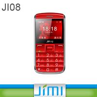 2015 JIMI Big Keyboard Mobile Phone For Kids Pear Phone For Sale GPS Tracker With SOS Alarm Platform Ji08